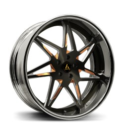 Artis Forged custom built wheel Nirvana