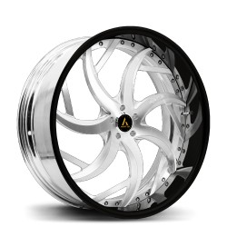 Artis Forged custom built wheel SinCity