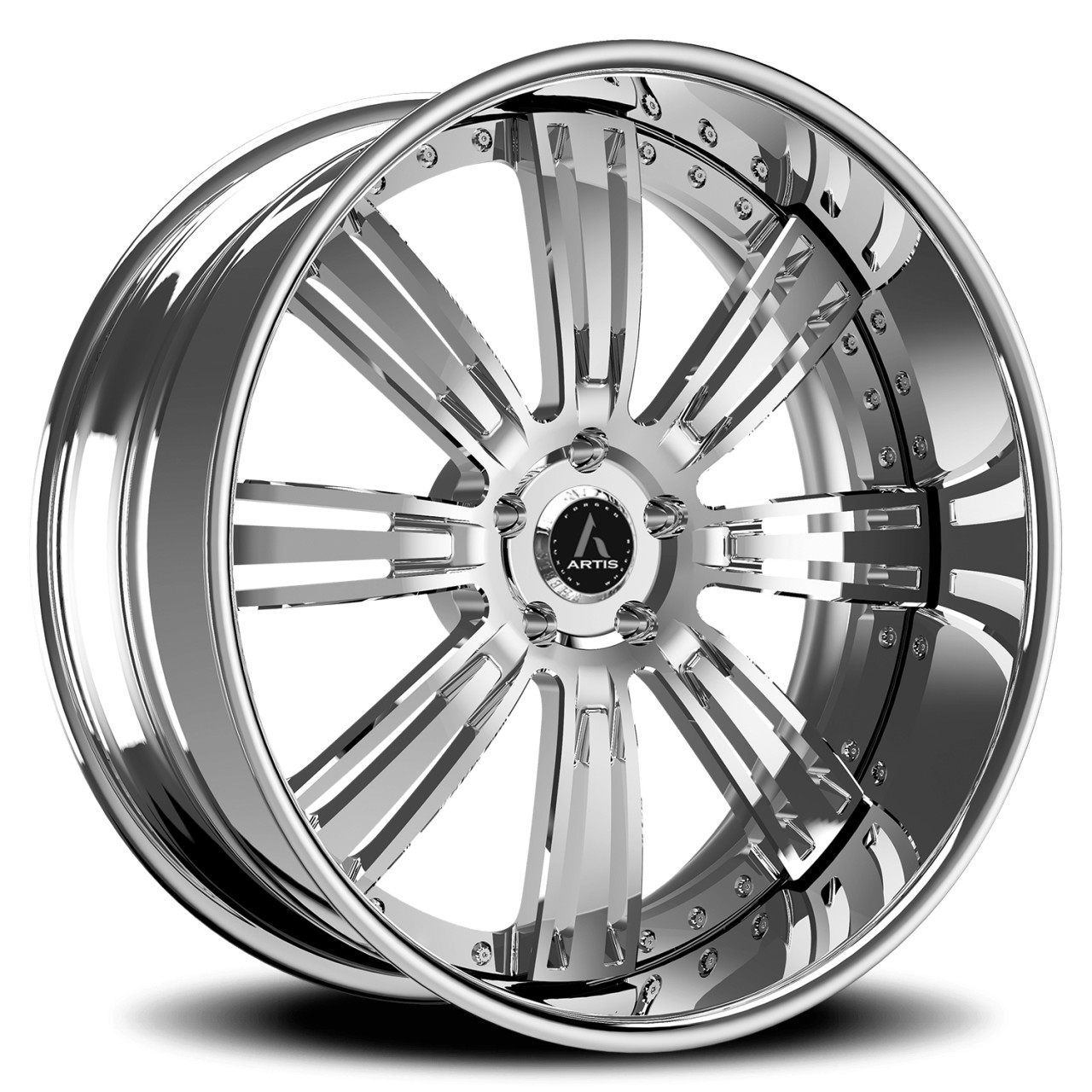 Artis Forged Grino wheel with Brushed finish