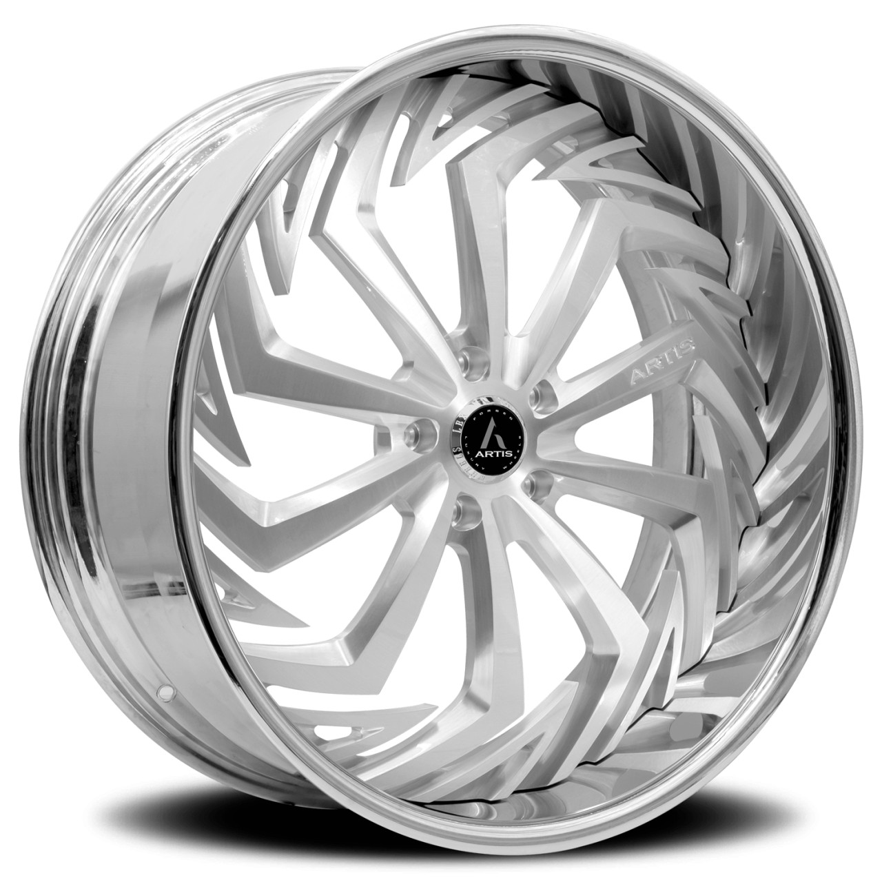 Artis Forged Royal wheel with Brushed finish