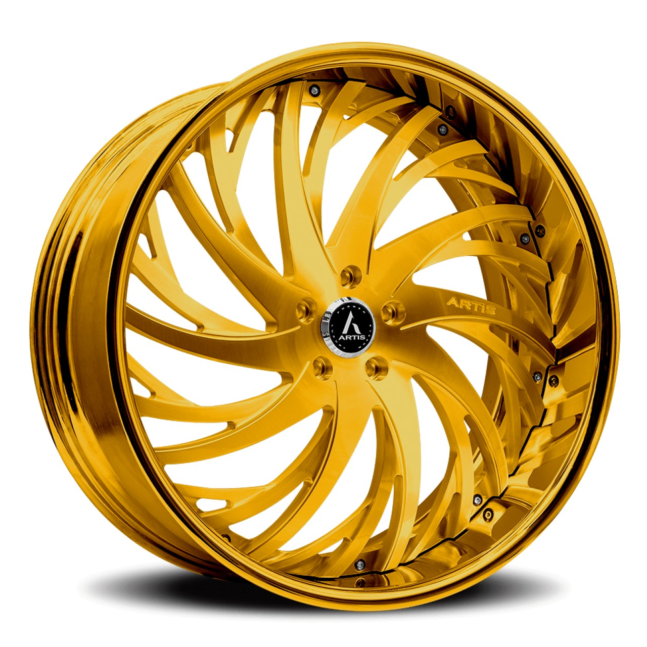 Artis Forged Decatur wheel with Gold finish