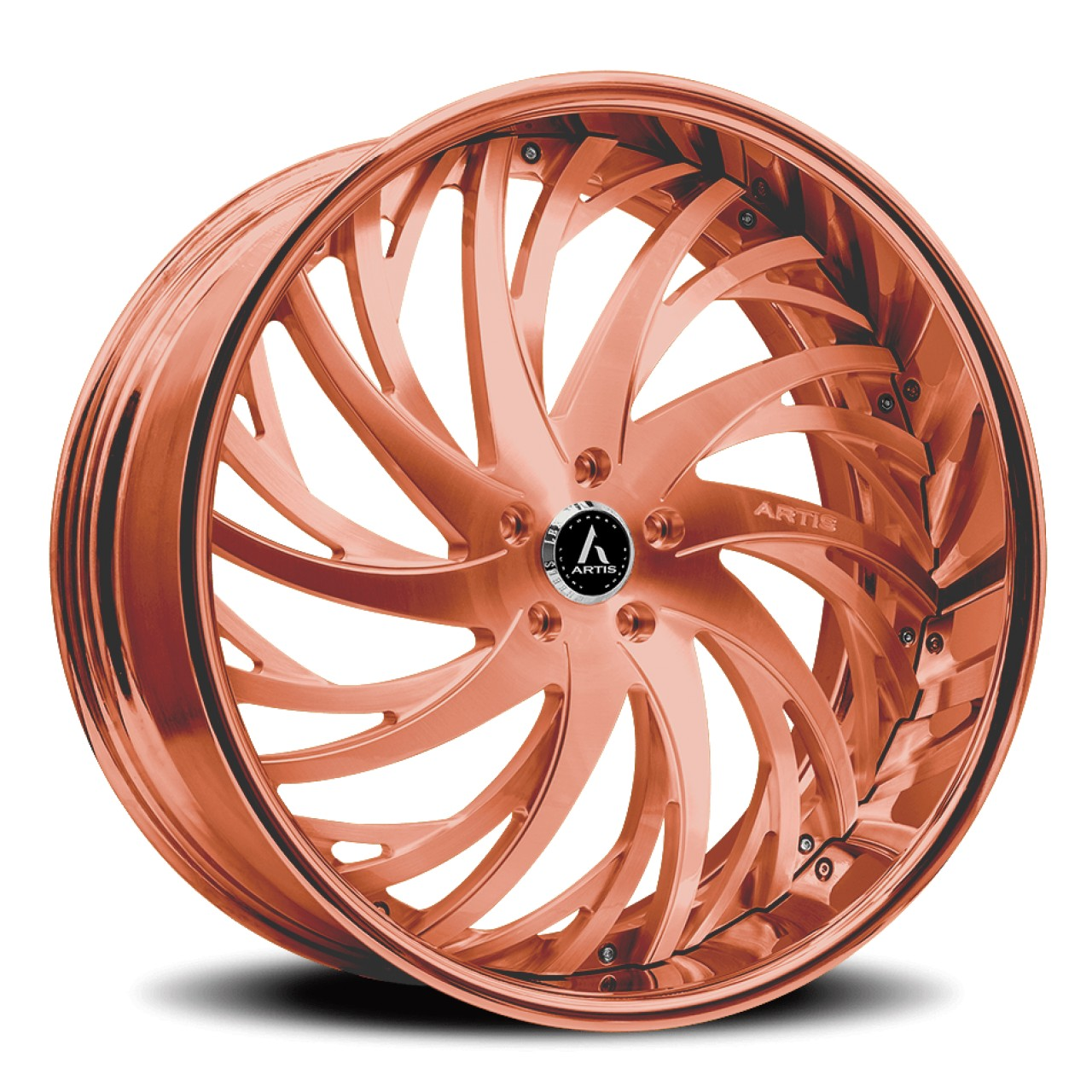 Artis Forged Decatur wheel with Rose Gold finish