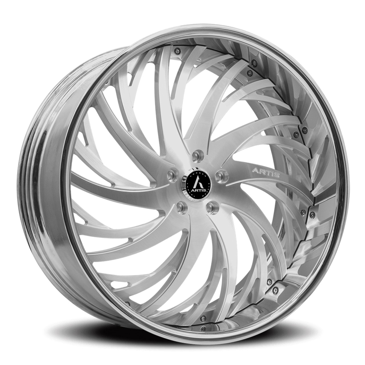 Artis Forged Decatur wheel with Brushed finish