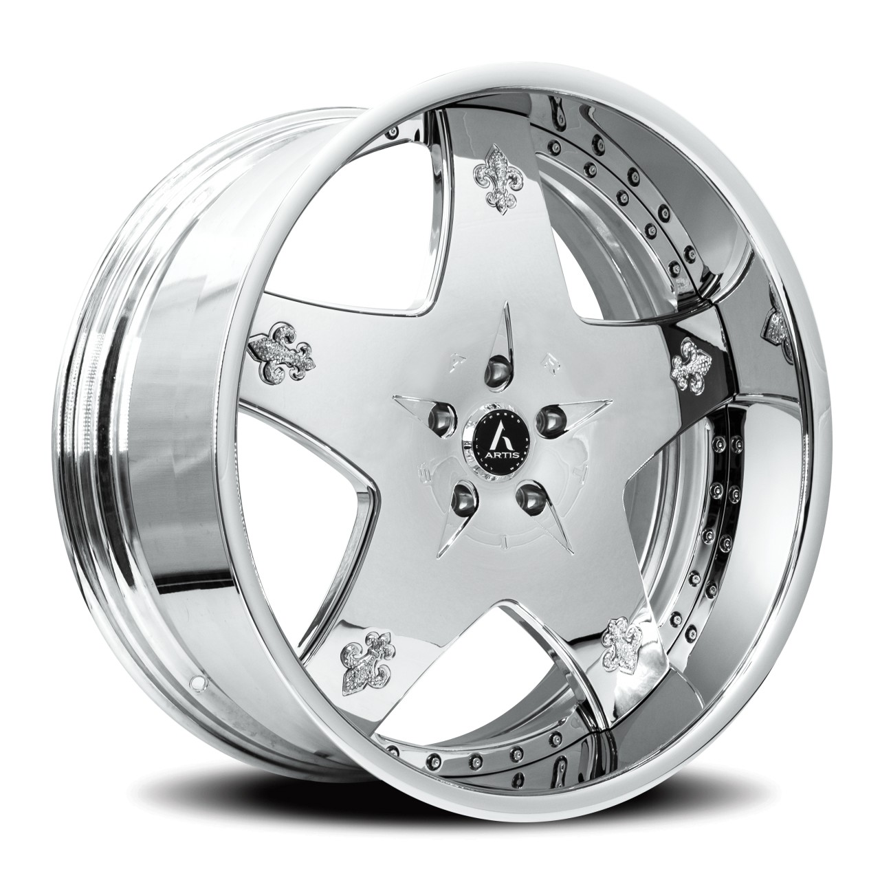 Artis Forged Cashville wheel with Chrome finish