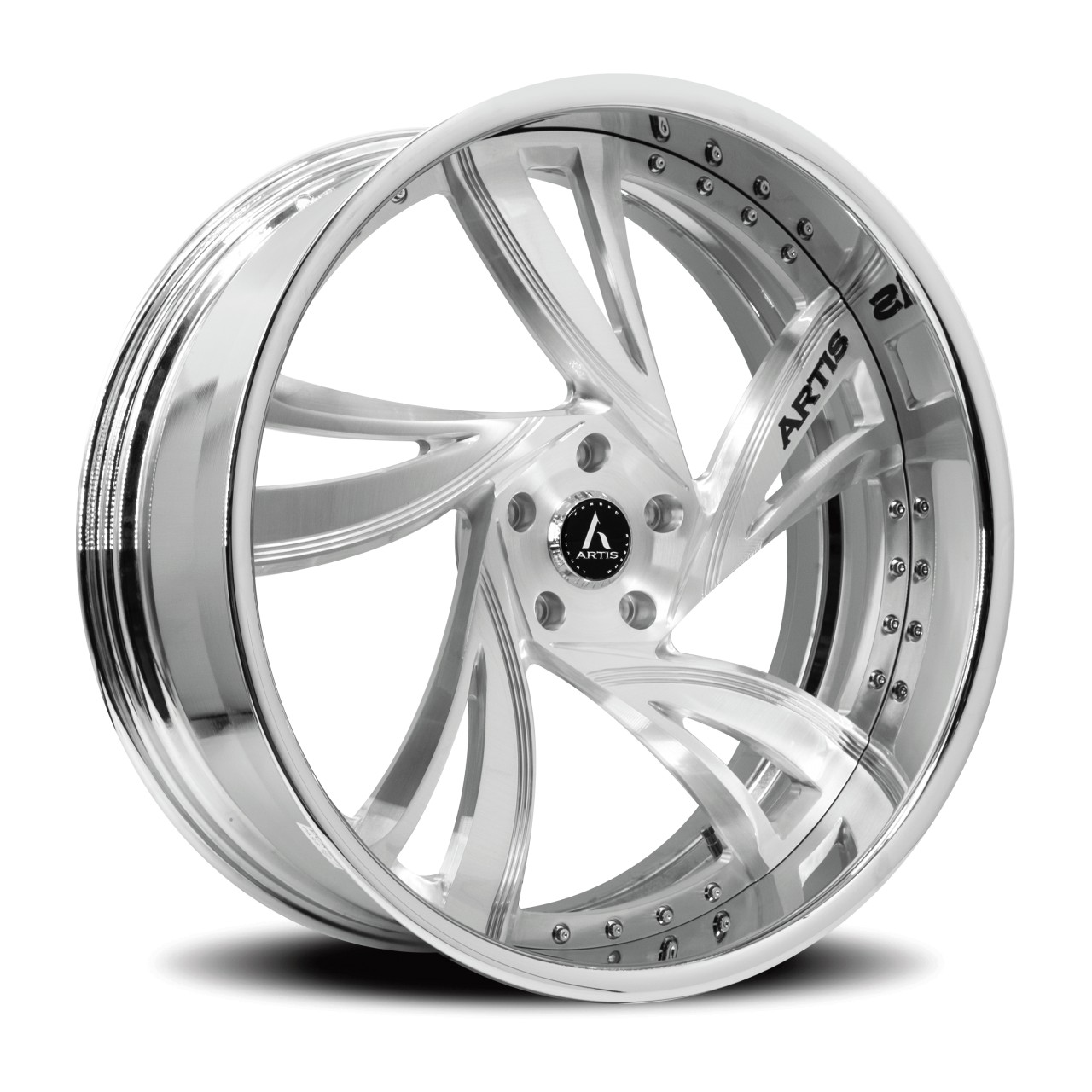 Artis Forged Kingston wheel with Brushed finish