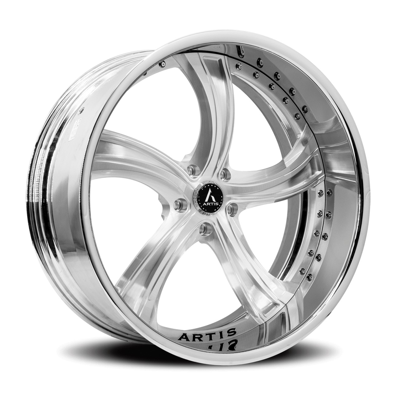 Artis Forged Kokomo wheel with Brushed finish