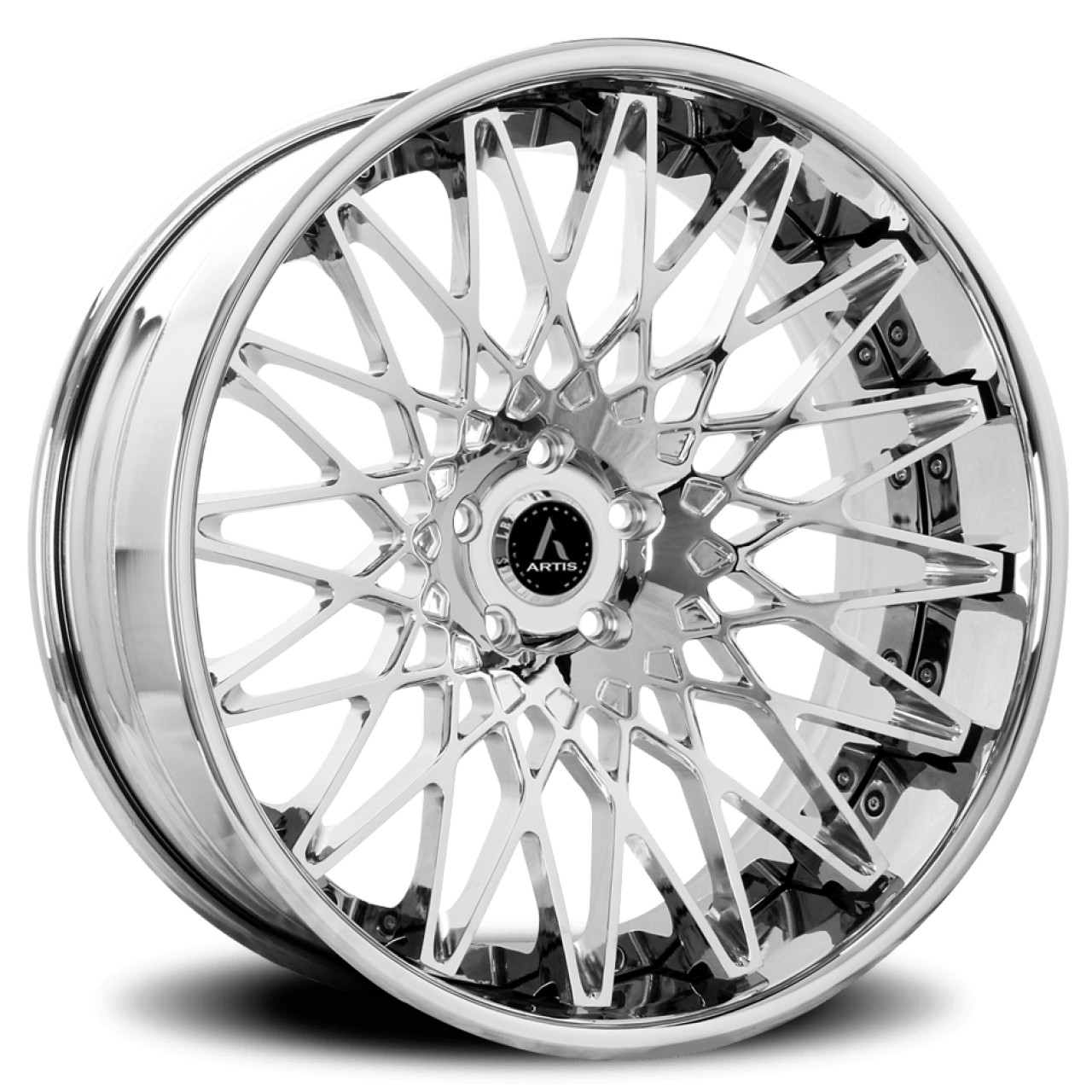 Artis Forged Monza wheel with Chrome finish